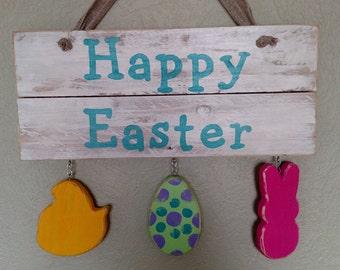 Happy Easter Wall Hanger