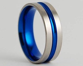 Dionysus Band with Comfort Fit Interior , Wedding Band , Titanium Ring , Promise Ring