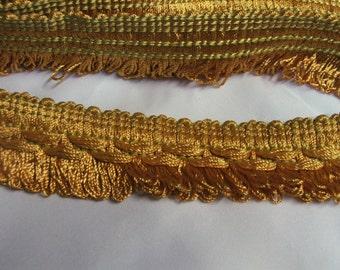 Gold decorative fringe tape