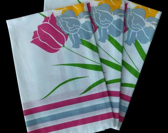 Floral French Napkins