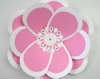 "X-Large, giant paper flower, large paper flower, big paper flower for any occasion ""JULIA"""