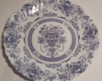 Arcopal Honorine   Dessert plate Salad plate Vintageold Corelle France  French & Toile dinnerware   Etsy