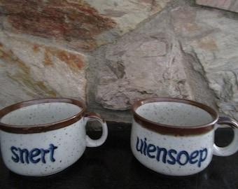 Dutch Soup Mugs