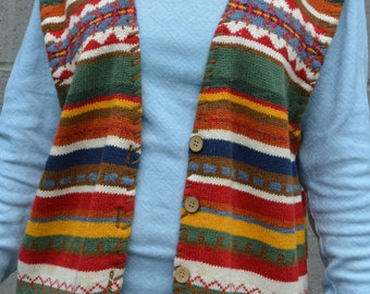 Vest Of Many Colors