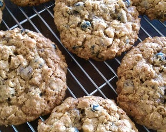 Blueberry Muffin Breakfast Cookies