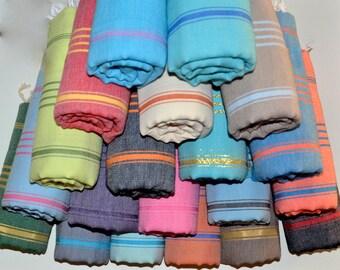 SALE! Express Shipping Peshtemal - Turkish Towel - Turkish Beach Towel