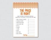 Orange Baby Shower Price ...