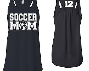 Soccer Mom, Soccer Mom Shirt, Tank Top, Soccer Mom Tee, Game Day Shirt, Soccer Mom T shirt