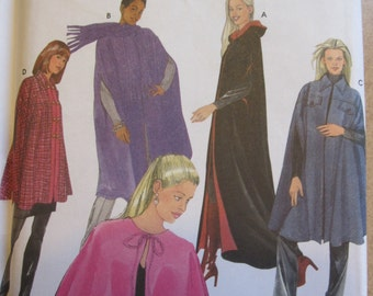 Pattern SIMPLICITY 5786 CAPES in 4 lengths