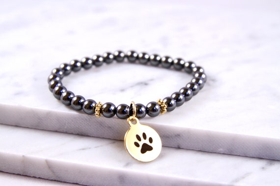 Paw Print Jewelry | Pawprint | Gift for Dog Sitter | Gift for Pet Sitter | Pet Loss Bracelet | Pet remembrance | Veterinarian Gift