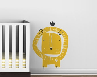 Baby Zoo Lion King Wall Decal - Fun Kids decor