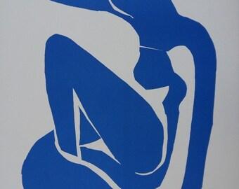 Henri MATISSE: Blue nude, original lithograph