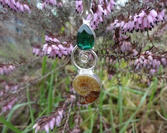 ammonite and green quartz suddenly RAS