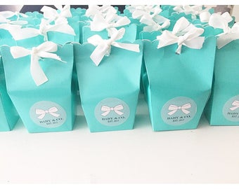 Baby shower favor etsy pre filled tiffany co baby shower favors baby shower gift bridal shower favour negle Images