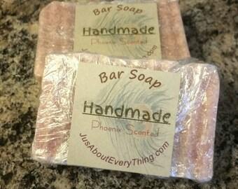 Handmade Soap Phoenix Scented Men's Bar Soap