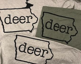 Iowa Deer T-Shirt