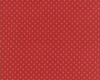 Farmhouse Reds - Three Petal Flower by Minick & Simpson for Moda, 1/2 yard, 14856 11