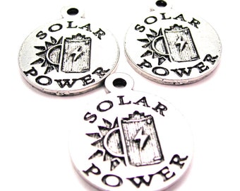 Solar Power charms 3 pieces