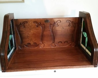 Unique decorative shelf- due to size and weight,local pick up or delivery only, or message me to see if we can meet in a central location.