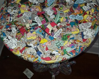 Custom Comic Book Table-Fox Trot and Archie