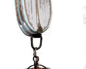 wooden block pulley pendant light beach style kitchen pendant dining light beach pendant rope pendant
