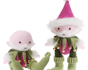 Crochet Magical Santa Elf Amigurumi pdf