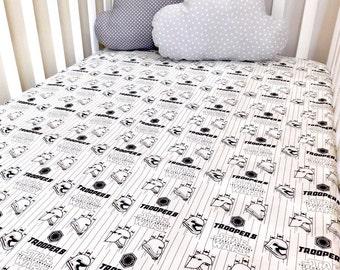 Star Wars crib sheet, Stars Wars crib sheets, Star Wars crib bedding, Star Wars baby gift, Star Wars baby bedding
