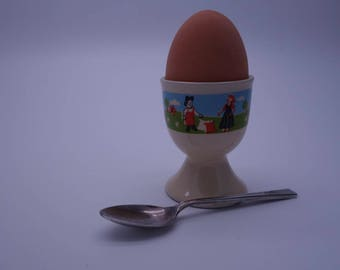 Vintage Ceramic Egg cup, Quirky, Kitchenware, Collectible Egg Cups, Easter