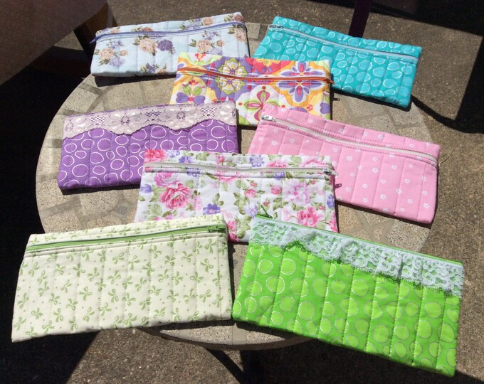 Zippered Pouches