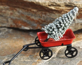 Tree for the Little Red Wagon for Miniature Garden, Fairy Garden