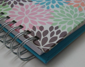 Mini Journal - Gratitude Journal - Pocket Size - Grateful Journal - Daily Gratitude - Thankful Journal - Year Journal - Colorful Mums