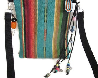 Bags Native American Tribal Black Panther Style Boho Fringe Tassel Crossbody Hand Woven Purse Handmade Southwest Gifts For Women