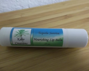 Tequila Sunrise Flavored Lip Balm
