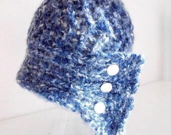 Vintage Style Knitting Pattern Cloche Hat 1920s