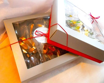 GIFT BOXED 12 Chocolate Covered Spoons, with or without  Marshmallows Favors, Novelty,Holidays, House Warmings