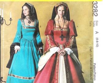 McCall's 3282 Misses' Tudor Costume Pattern