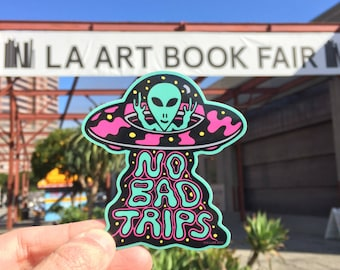 No Bad Trips Sticker
