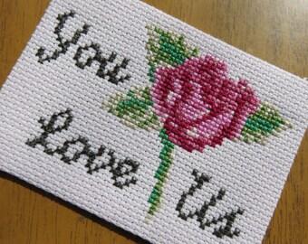 Manic Street Preachers You Love Us Rose Generation Terrorists Sew-On Badge Patch
