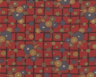 Modernism Scot Rose by Barbara Brackman for Moda - One Yard - 8272 13