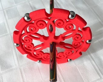 Ultimate Drop Spindle (Crimson)