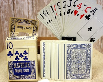 2 sets of different Playing Cards, Vintage Card Sets, Aviator Cards, Maverick Playing Card Set