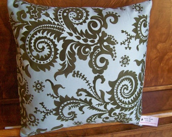 14x14 inch Pillow or Pillow Cover - Amy Butler - Nigella Wood Fern