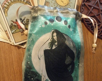 Lunar Eclipse, Moon Goddess Tarot Bag