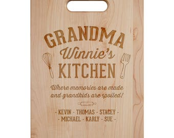 Memories Are Made Cutting Board - Engraved Cutting Board,Personalized Cutting Board, Wedding Gift,Housewarming Gift, Anniversary Gift