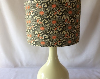 30 cm lampshade made with hand printed Japanese Chiyogami paper