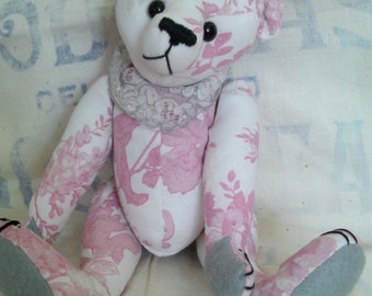 One of a kind bears and other animals made with affection using quality mohair, fabrics and components