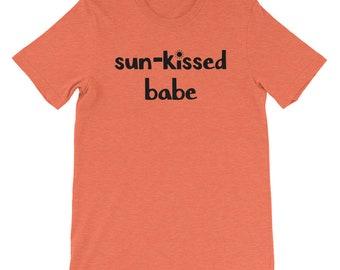 Sun-kissed Babe Short-Sleeve T-Shirt