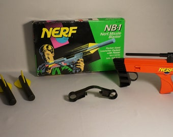 1992 NERF NB-1 Missle Blaster MIB