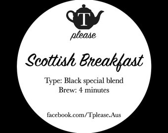 Scottish Breakfast loose leaf tea