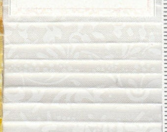 """White Out - (24) 2.5"""" Strips - Wilmington Prints - Crystals"""